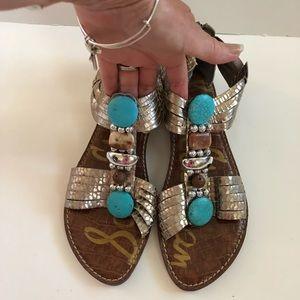 Sam Edelman leather Sandals women's 9.5
